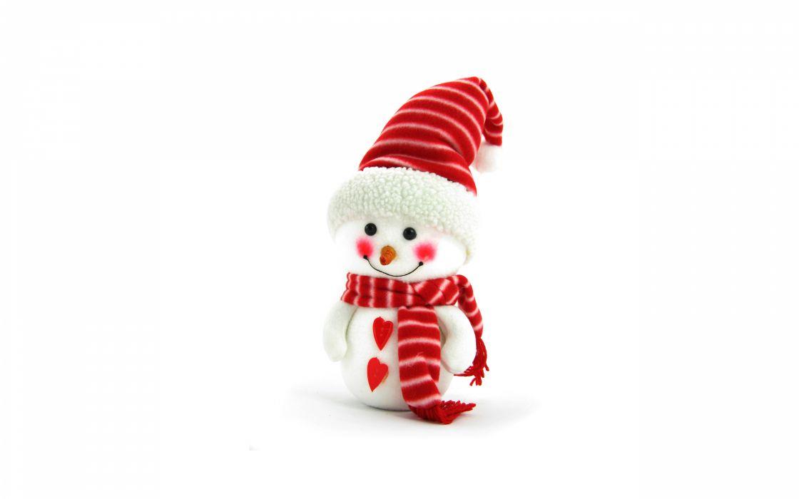 christmas snowman new year   f wallpaper