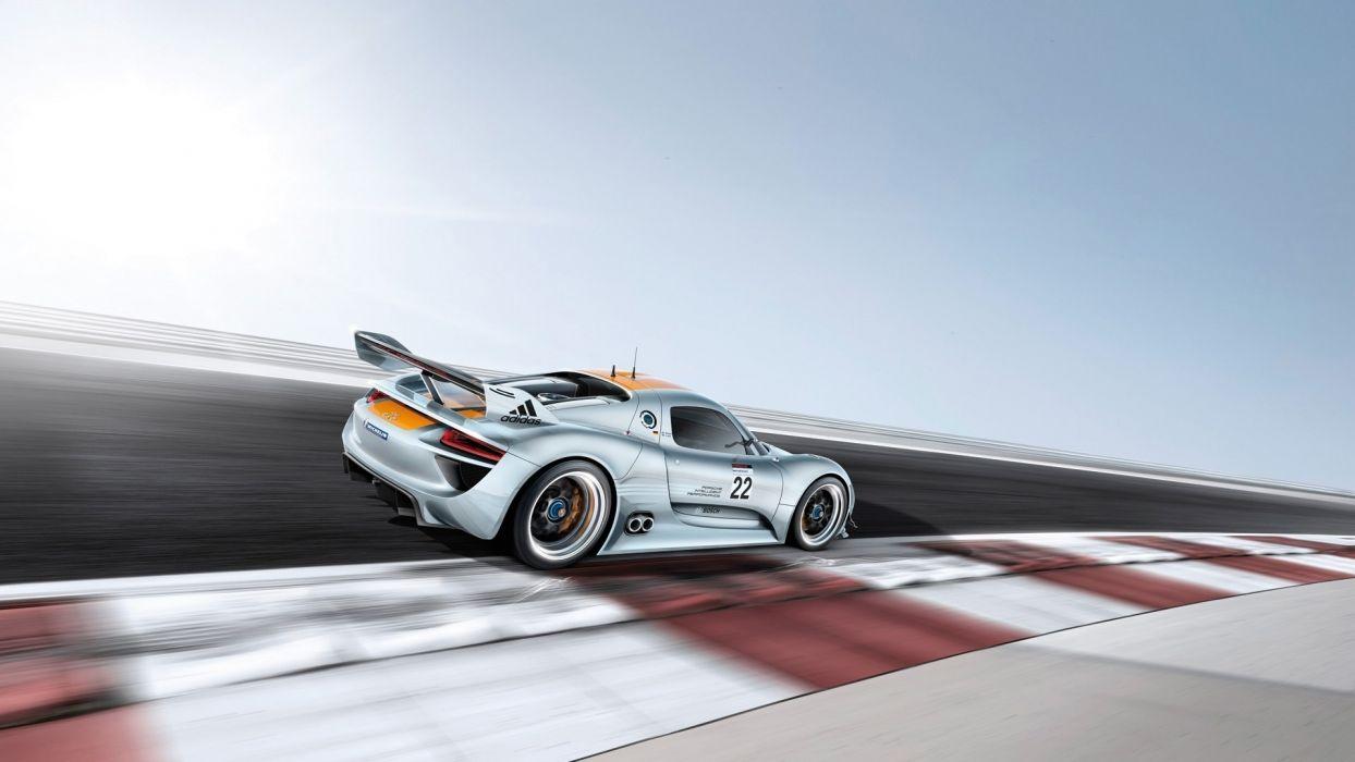 blur track 918 porsche speed rsr racing supercar wallpaper