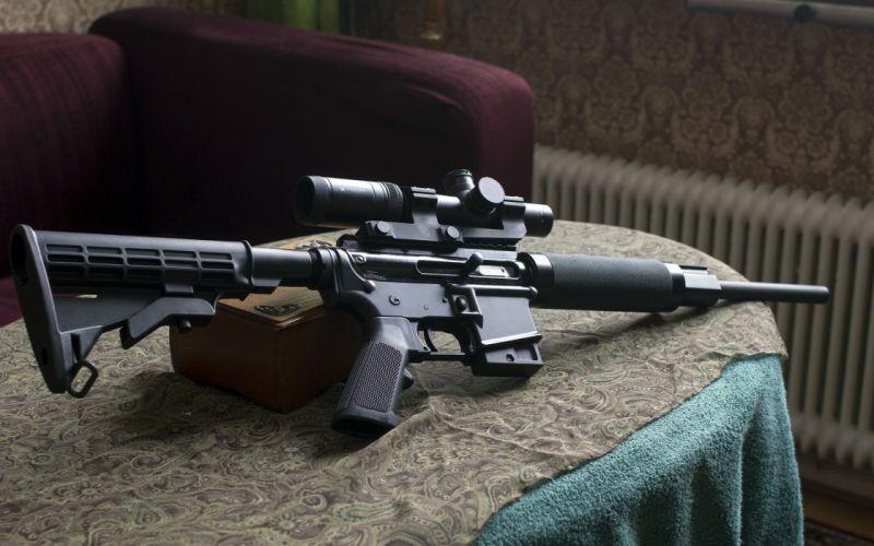 gun rifle cz v-22 military police wallpaper