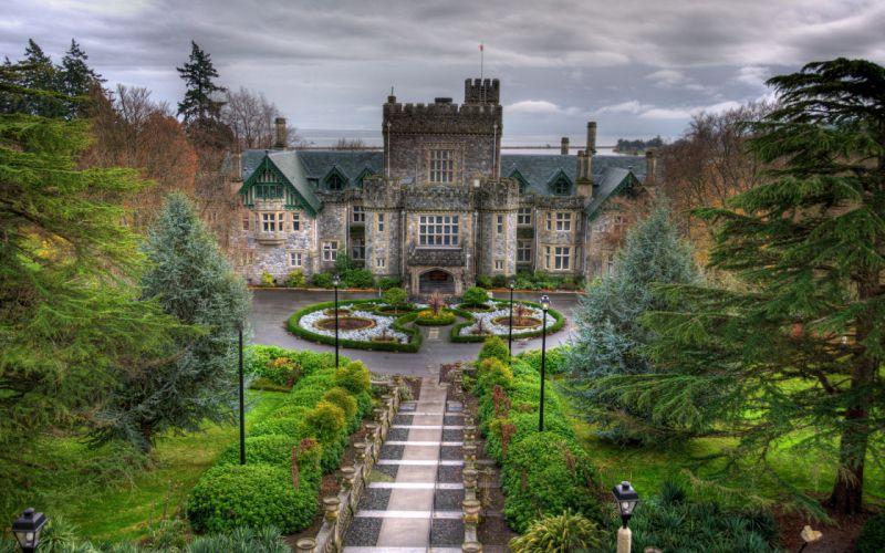 Hatley Castle British Columbia Canada wallpaper