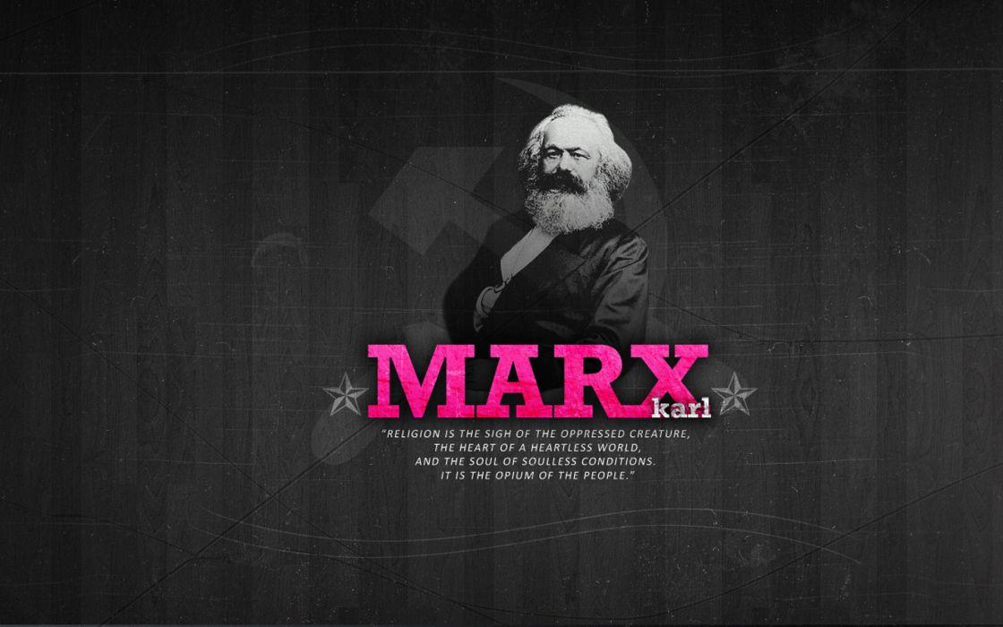 Karl Marx a politician religion wallpaper