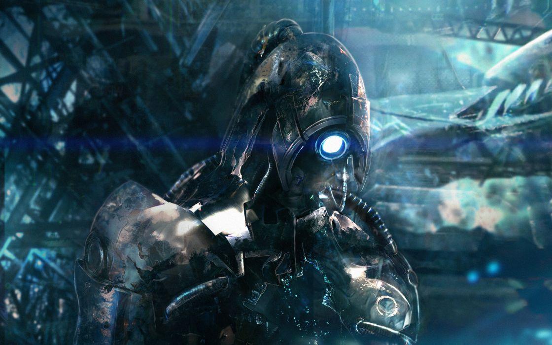 Mass Effect 2 Warrior Legion Games sci-fi wallpaper