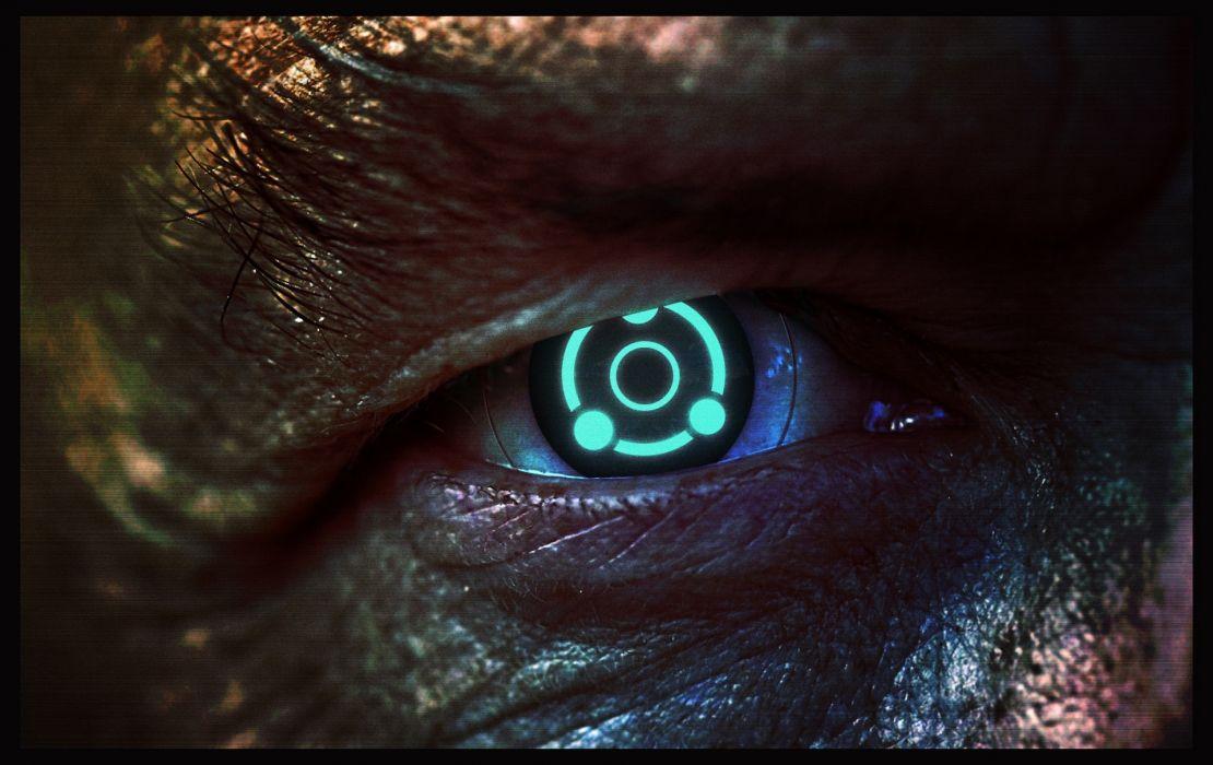 Mass Effect Eyes Illusive Man Glance Games sci-fi wallpaper