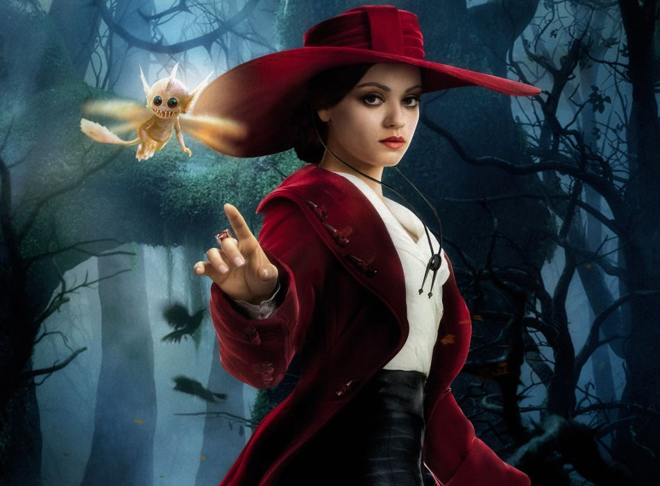 Mila Kunis Oz the Great and Powerful Hat Movies Girls Celebrities Fantasy wallpaper