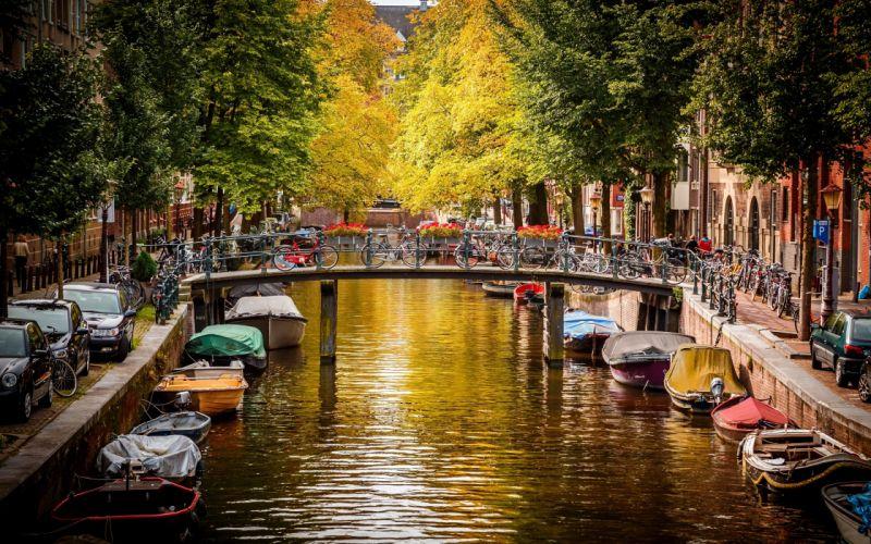 netherlands amsterdam wallpaper