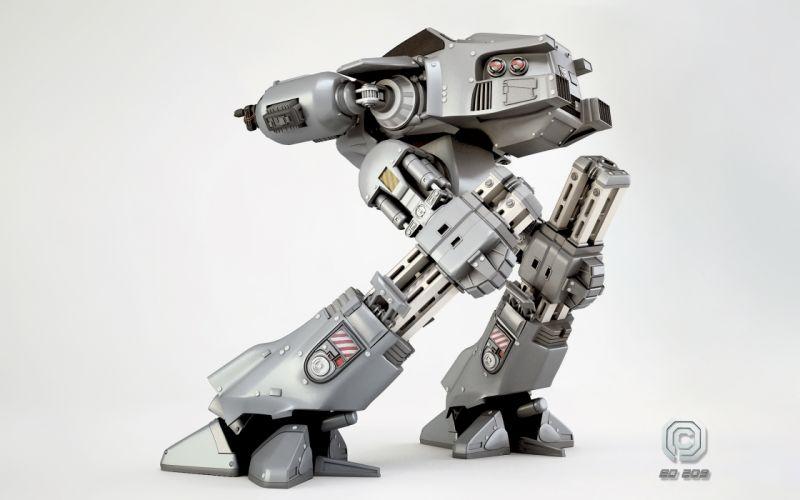 Rollerball ED-209 Robot Movies sci-fi mecha wallpaper