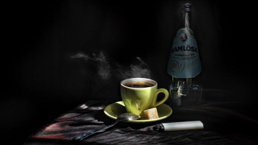 sugar bottle lighter coffee spoon g wallpaper