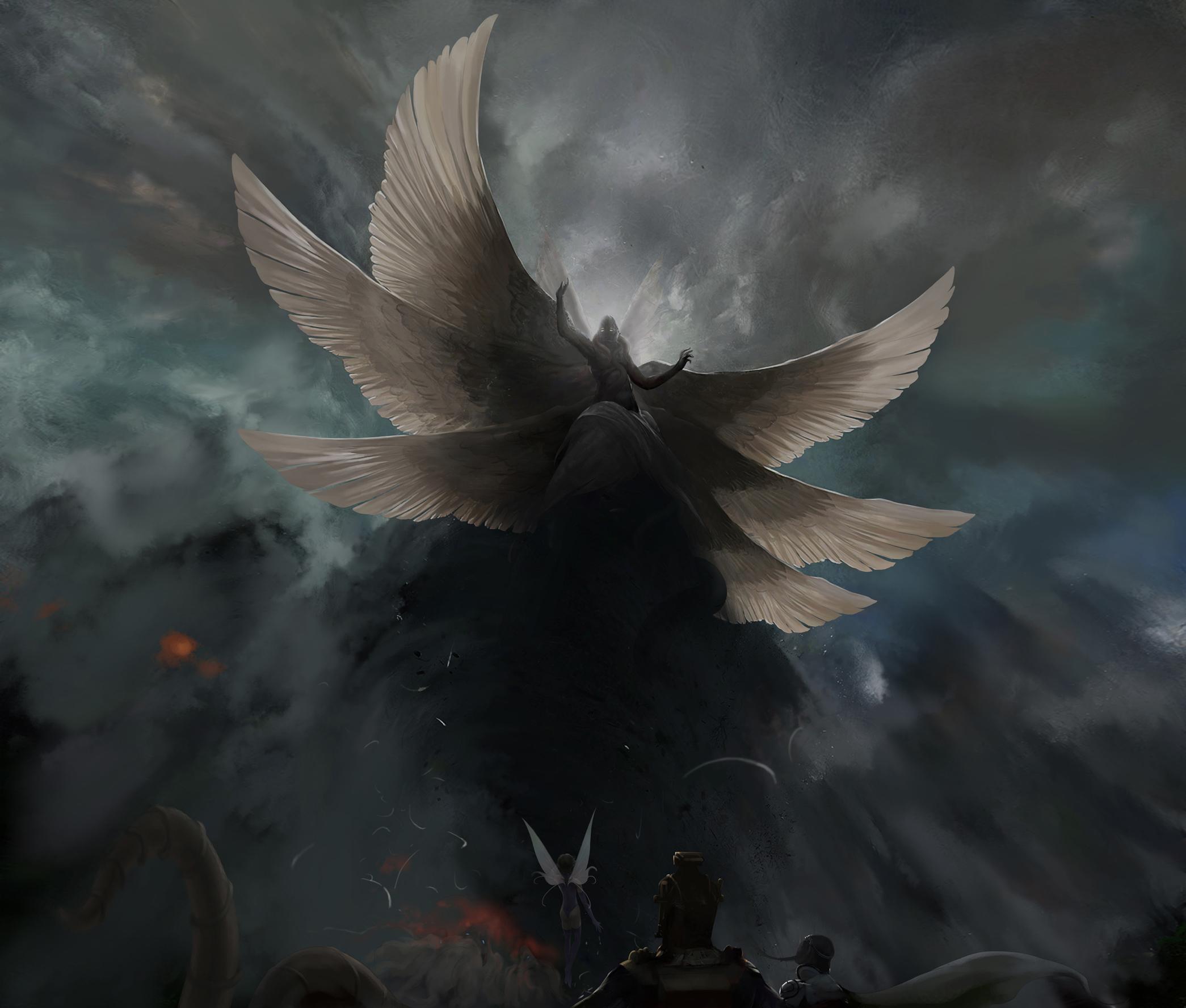angel devil wings wallpaper - photo #15