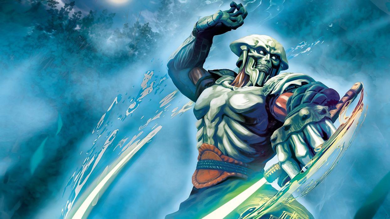 Tekken Warrior Games Fantasy wallpaper