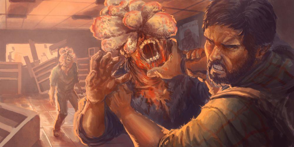 The Last of Us Men Zombie Monsters Games dark wallpaper