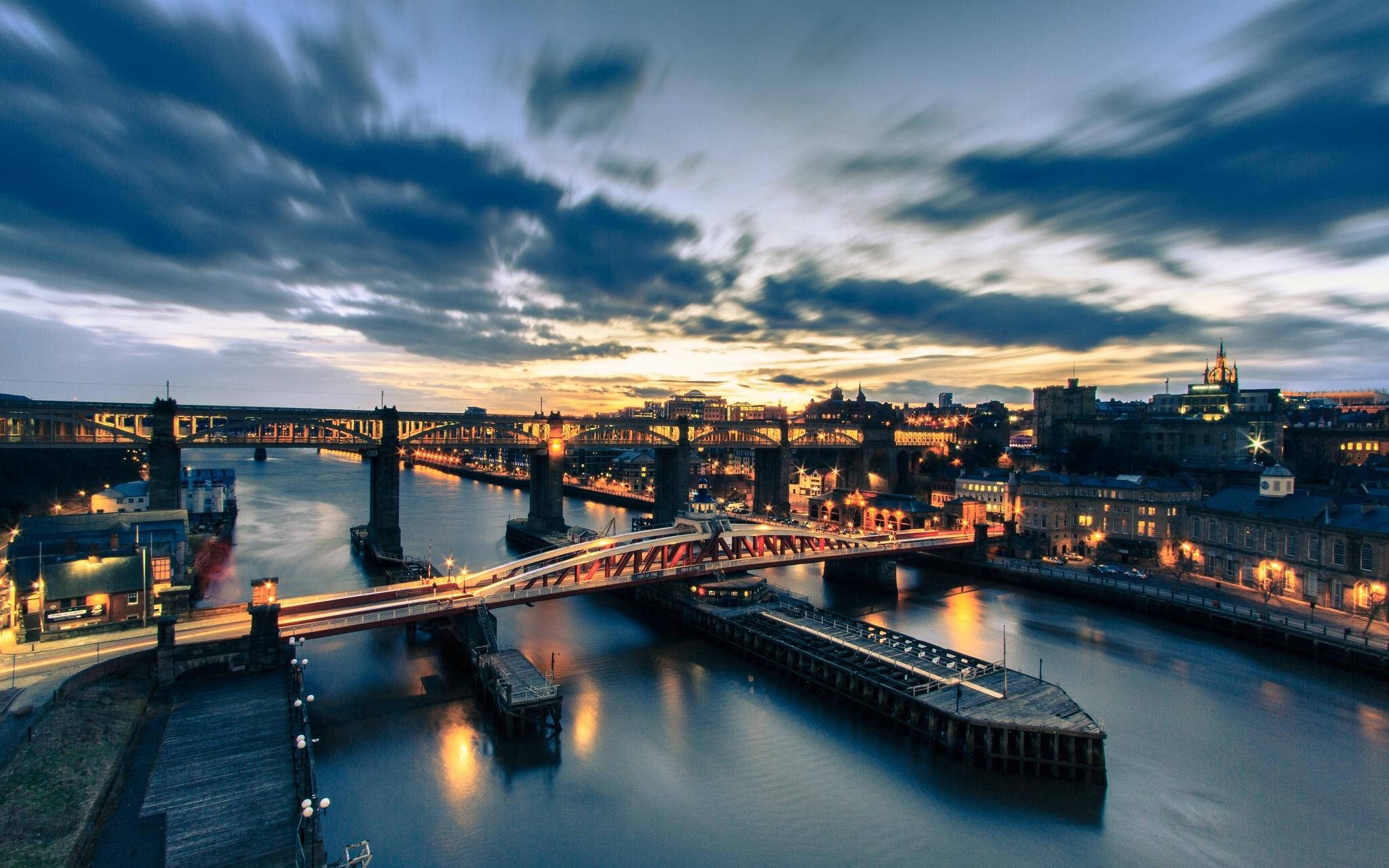 Tyne Bridge Wallpaper Tyne Bridge Newcastle England