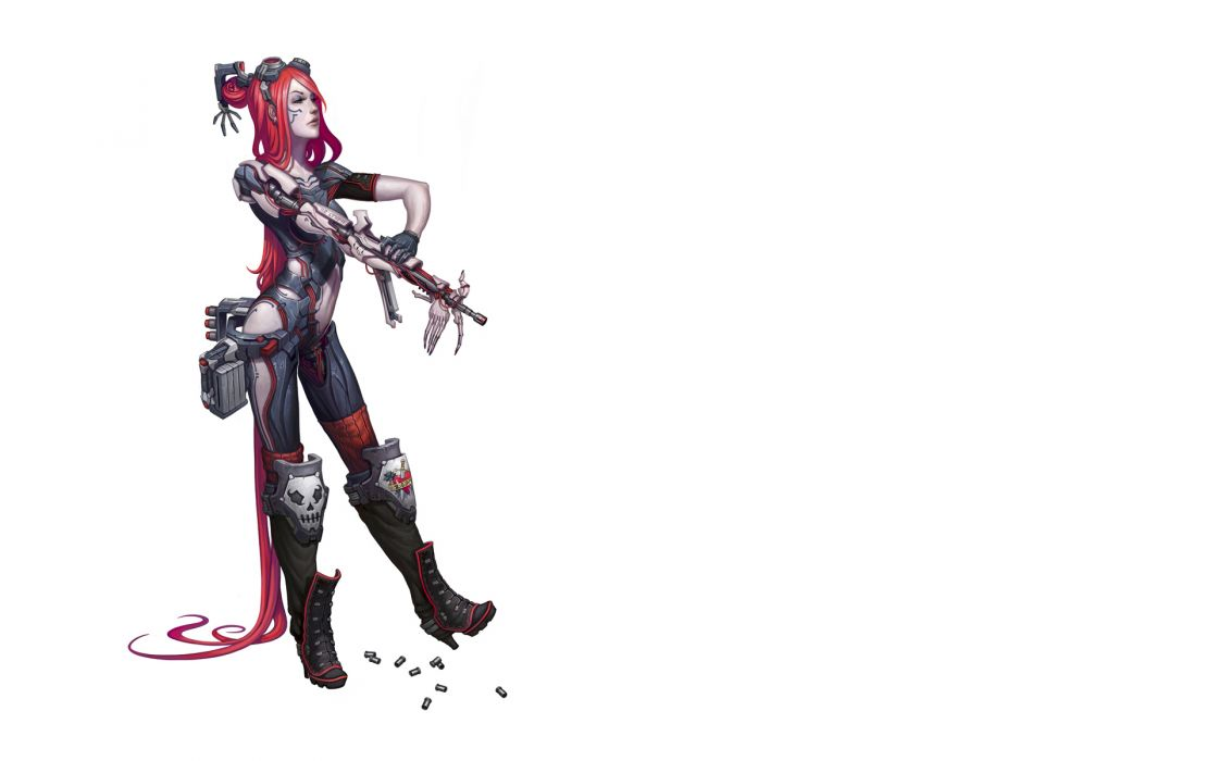 Warrior Robot Fantasy cyborg sci-fi girls wallpaper