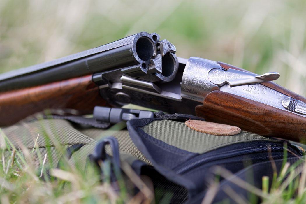 weapon a gun vertikalka engraving shotgun hunting wallpaper