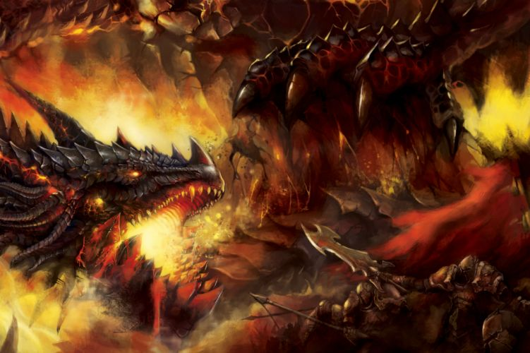 Battle Dragon Warrior Head wallpaper