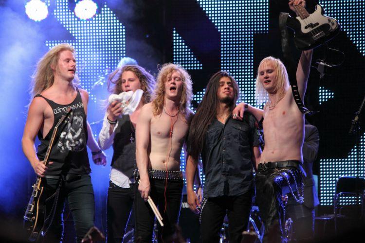 Dynazty heavy metal concert wallpaper