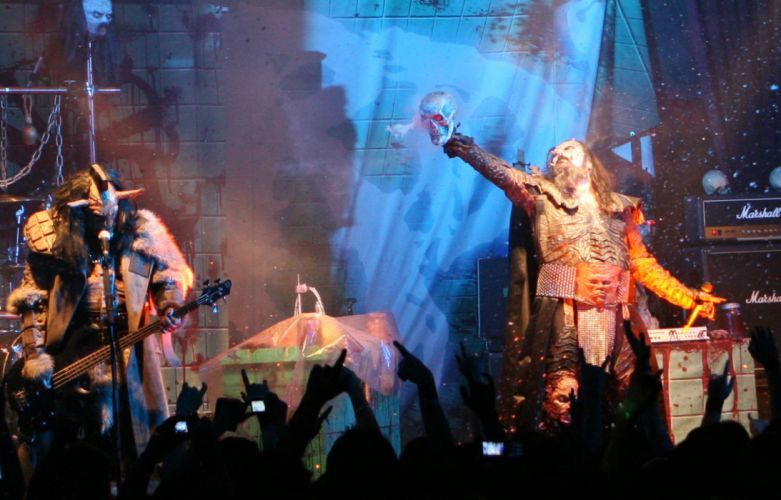 LORDI heavy metal concert dw wallpaper
