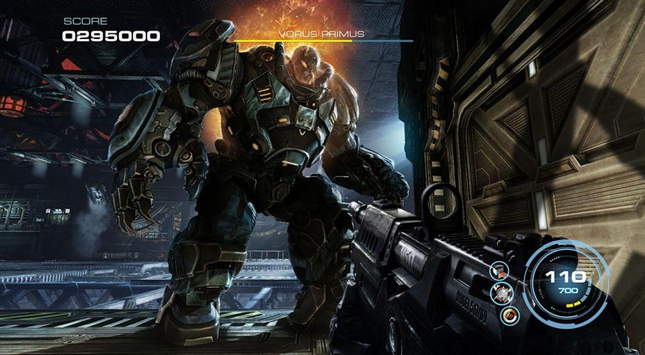 ALIEN RAGE sci-fi warrior weapon h wallpaper