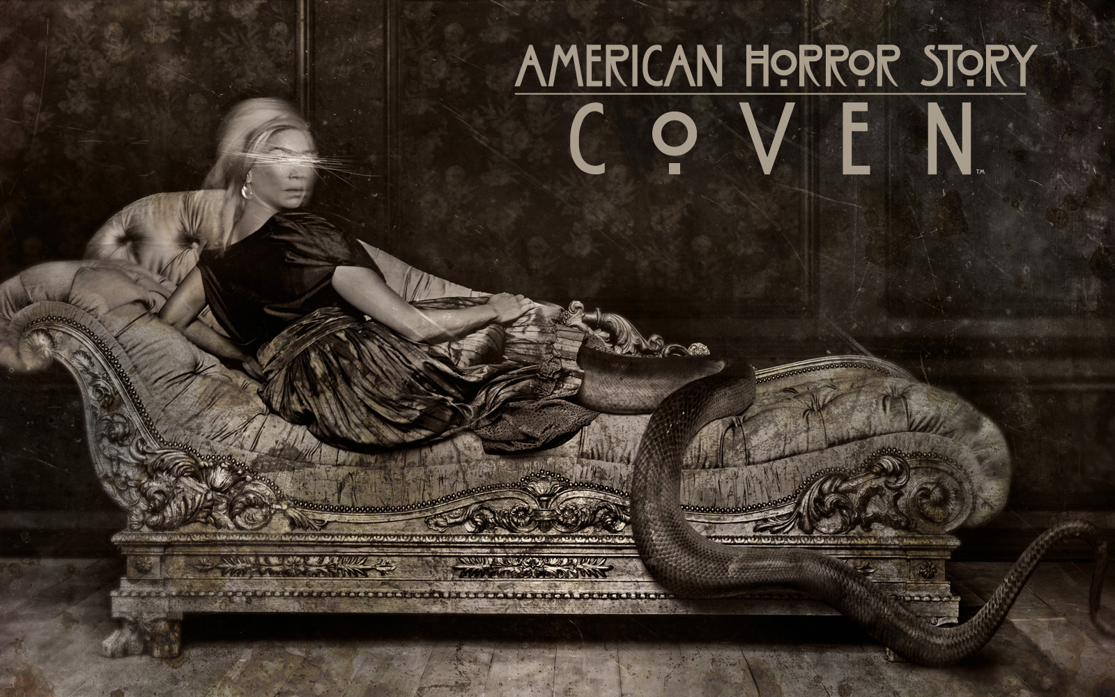 American horror story creepy b w dark horror demon dark wallpaper 1600x1000 166799 wallpaperup - American horror story wallpaper ...