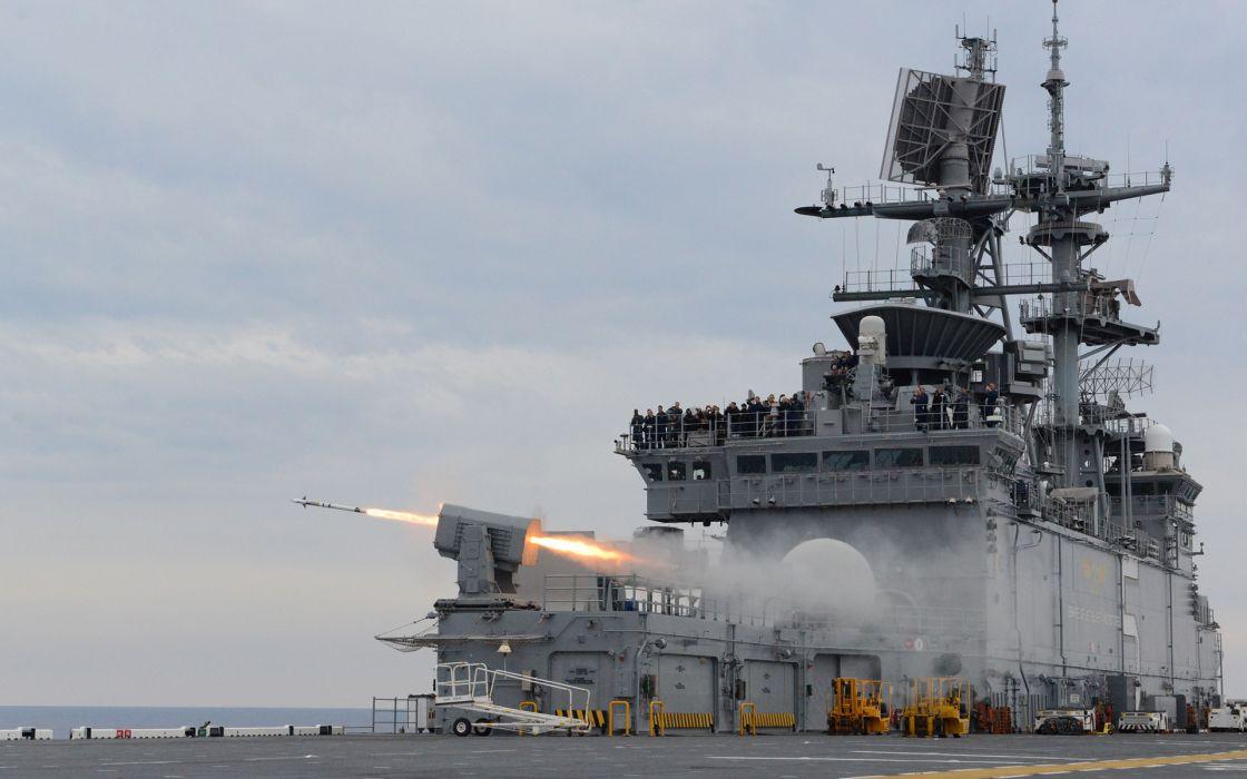 Battleship Ship Missile Rocket military      g wallpaper