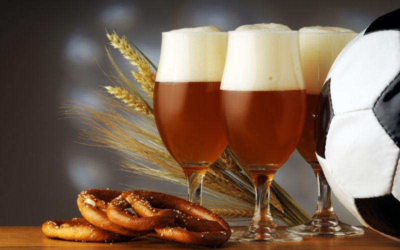 beer foam glasses rye wheat ball wallpaper