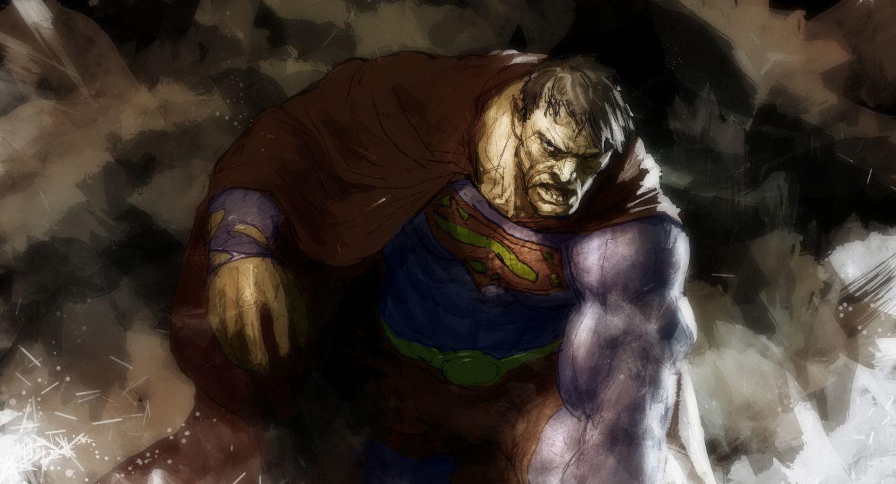 Heroes comics Superman hero Men superhero dark wallpaper