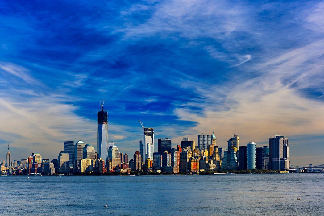 Manhattan New York USA wallpaper