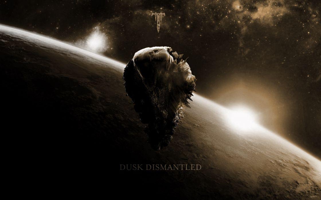 Trivium heavy metal space sci-fi wallpaper