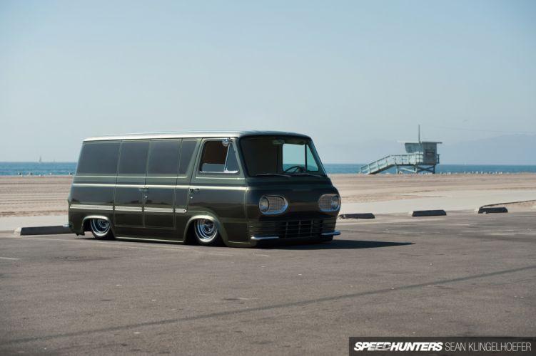 Van Slammed tuning lowrider classic ford e wallpaper