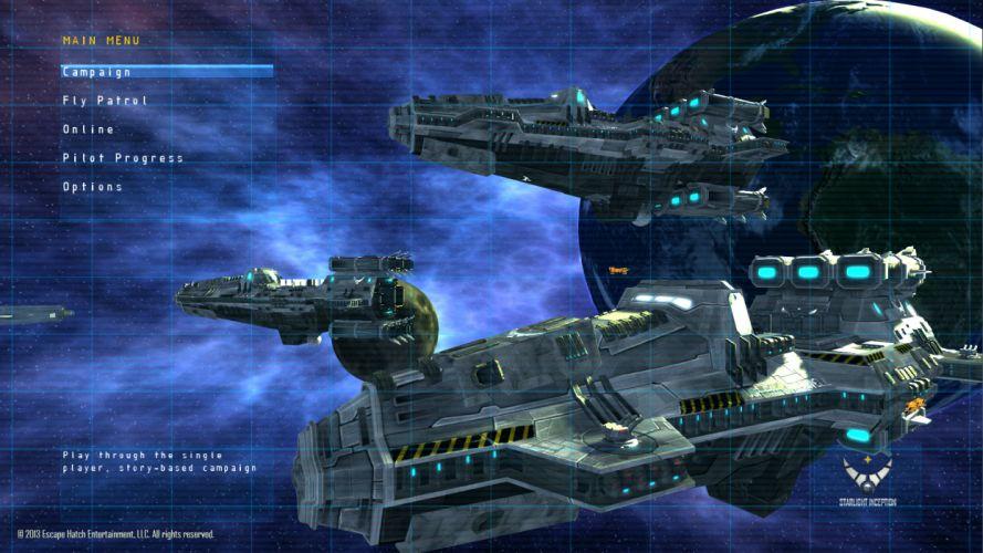 Starlight Inception sci-fi spaceship t wallpaper