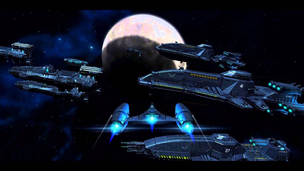 Starlight Inception sci-fi spaceship       y4 wallpaper