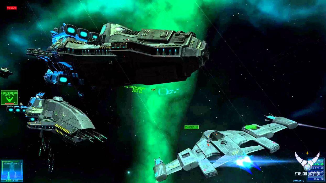 Starlight Inception sci-fi spaceship      j wallpaper