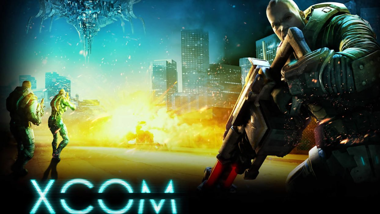 XCOM Enemy Unknown sci-fi    y wallpaper