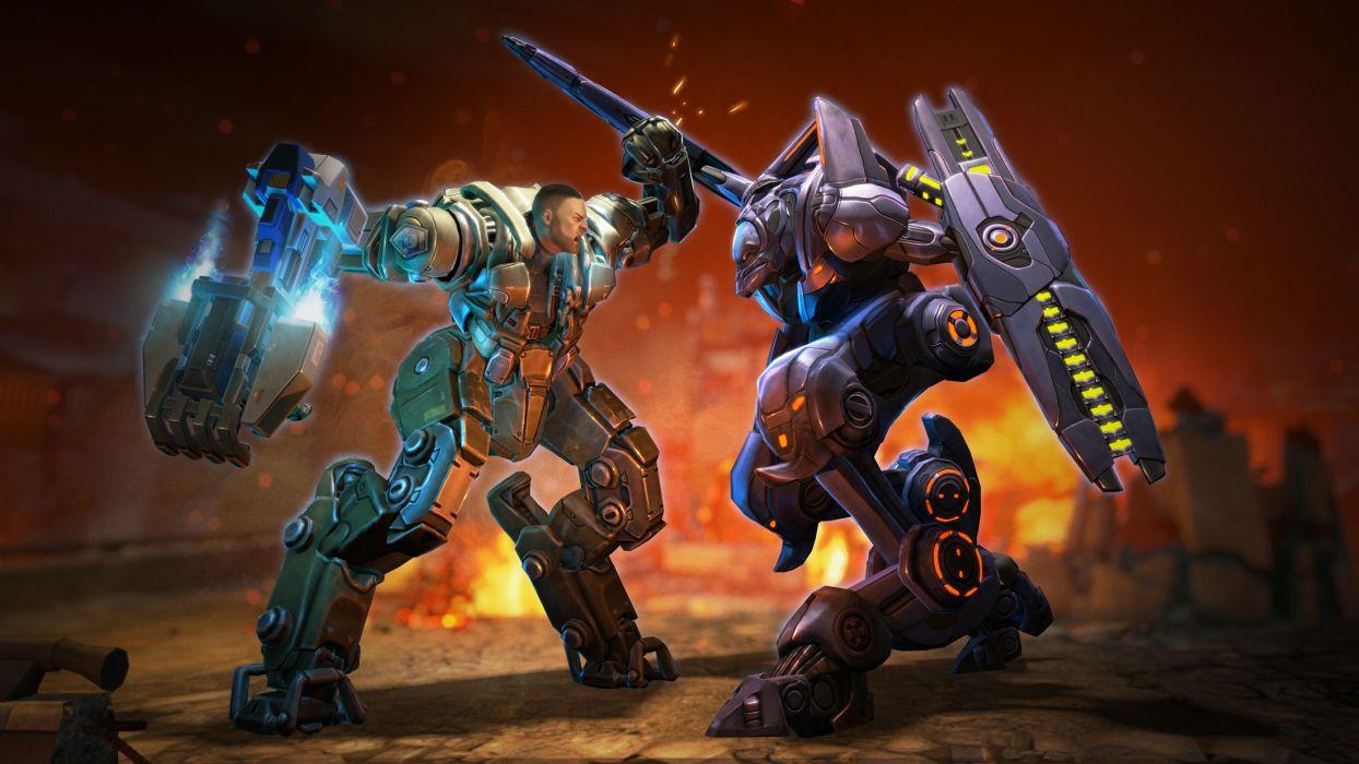 XCOM Enemy Unknown sci-fi mecha warrior battle      h wallpaper