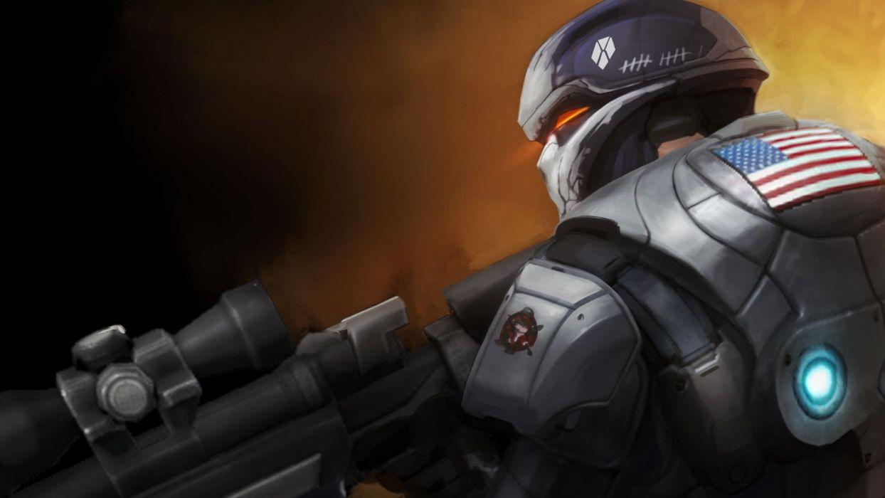XCOM Enemy Unknown sci-fi warrior   po wallpaper
