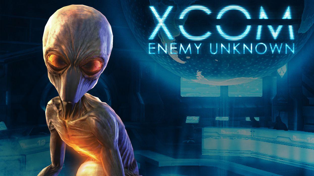 XCOM Enemy Unknown sci-fi alien    y wallpaper