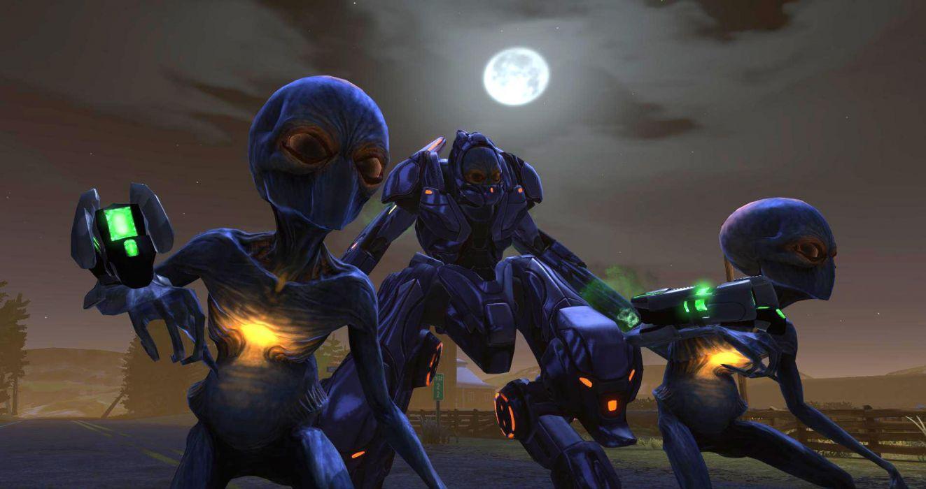 XCOM Enemy Unknown sci-fi alien mecha      f wallpaper