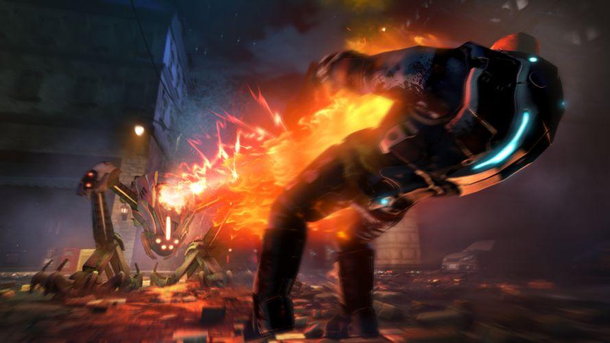 XCOM Enemy Unknown sci-fi battle h wallpaper