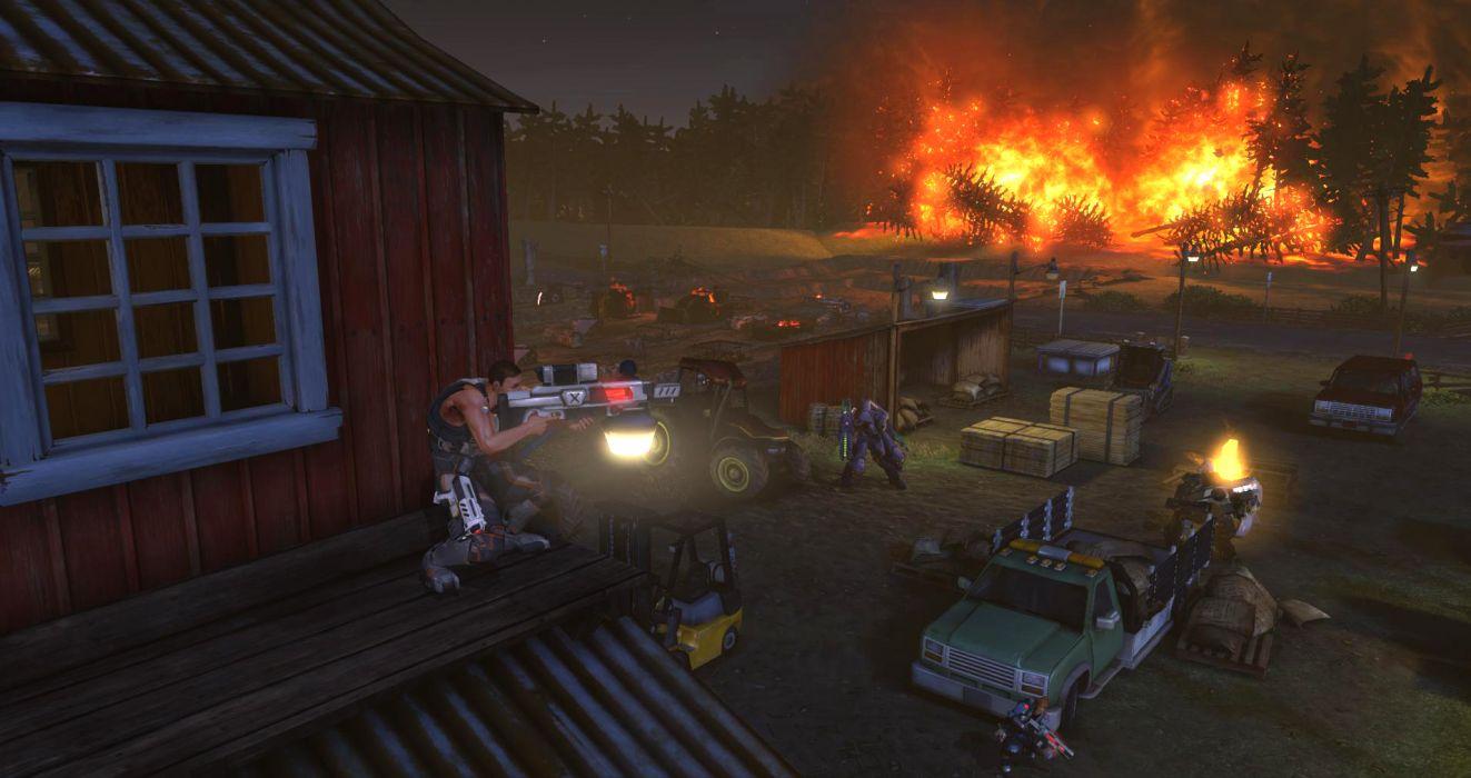 XCOM Enemy Unknown sci-fi battle    y wallpaper