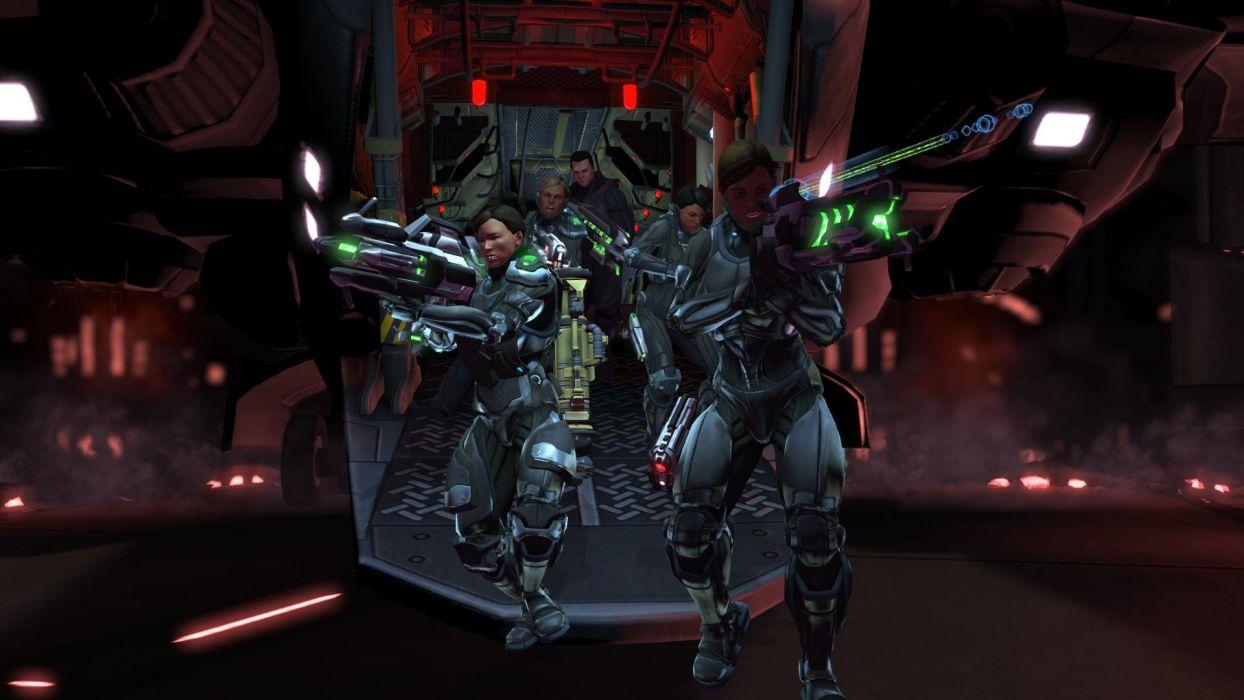 XCOM Enemy Unknown sci-fi warrior weapon    i wallpaper