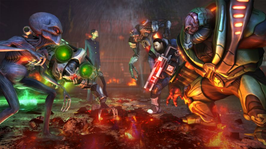 XCOM Enemy Unknown sci-fi warrior weapon g wallpaper