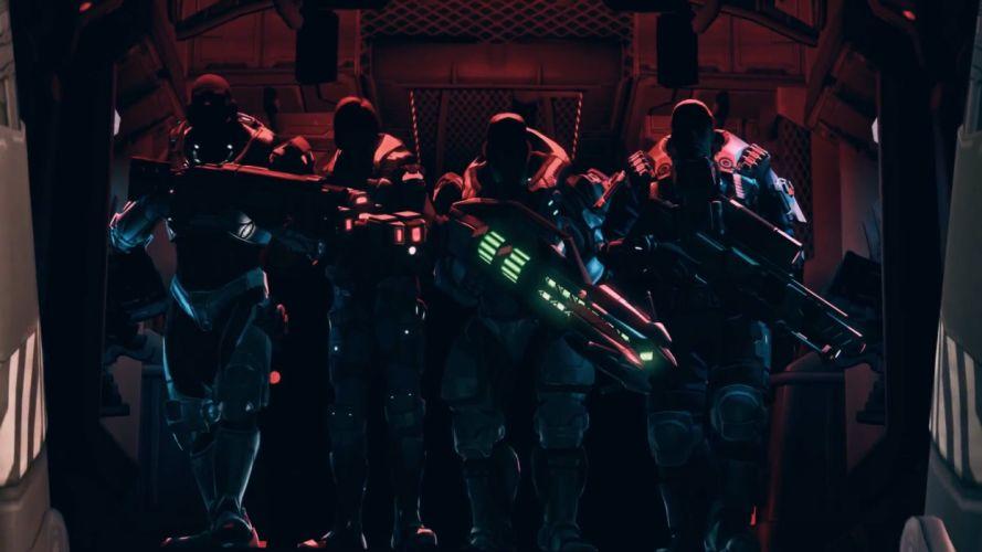 XCOM Enemy Unknown sci-fi warrior weapon j wallpaper