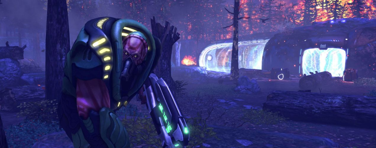 XCOM Enemy Unknown sci-fi warrior weapon multi dual g wallpaper