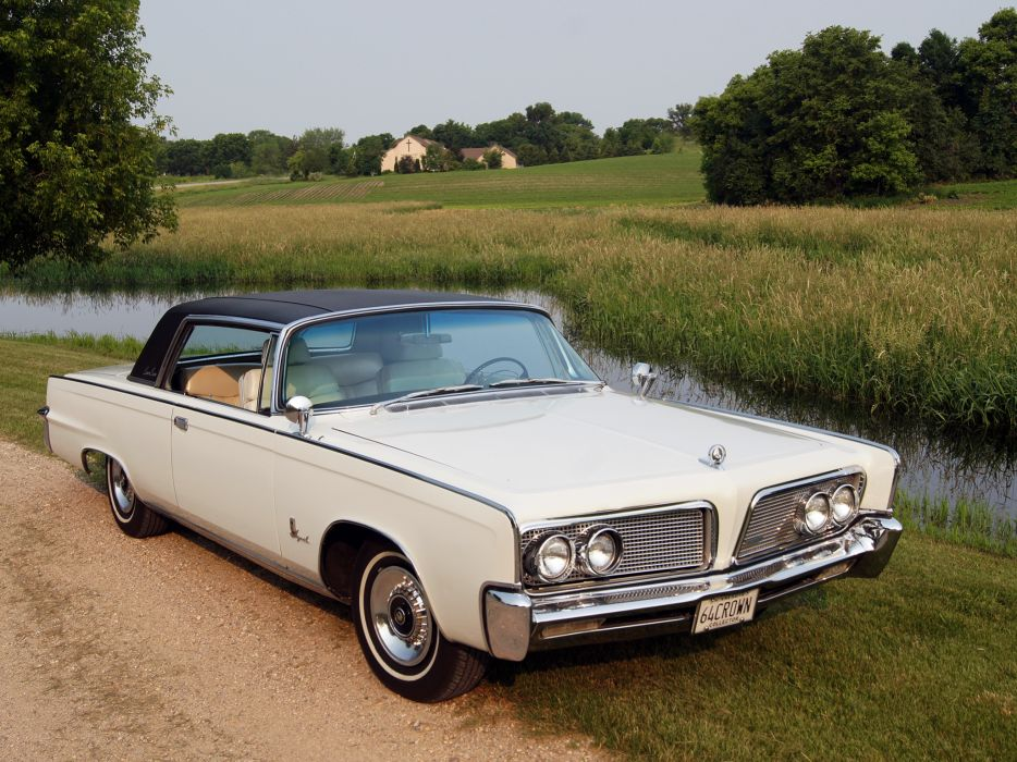 1964 Chrysler Imperial Crown Hardtop Coupe (VY1M-Y22) classic wallpaper