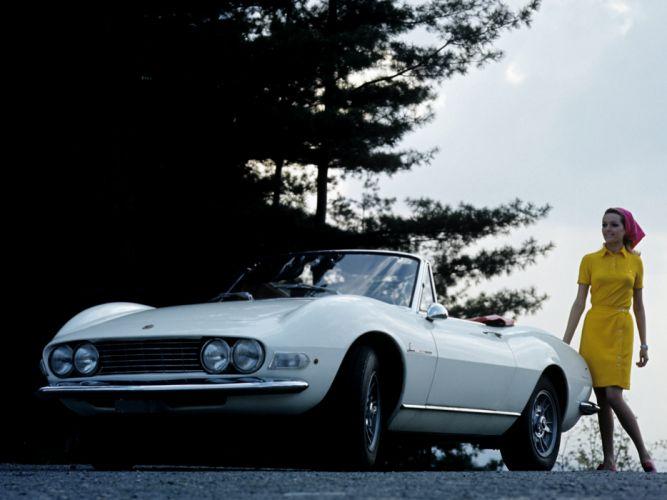 1966 Fiat Dino Spider (135) classic fs wallpaper