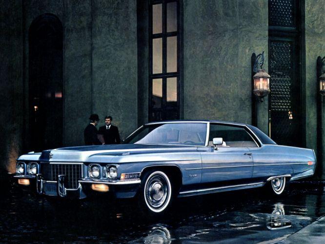 1971 Cadillac Coupe de Ville (68347J) luxury classic hd wallpaper