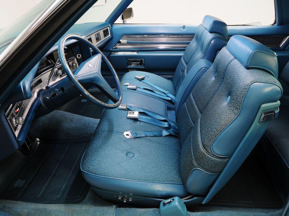 1971 Cadillac Coupe de Ville (68347J) luxury classic interior        g wallpaper