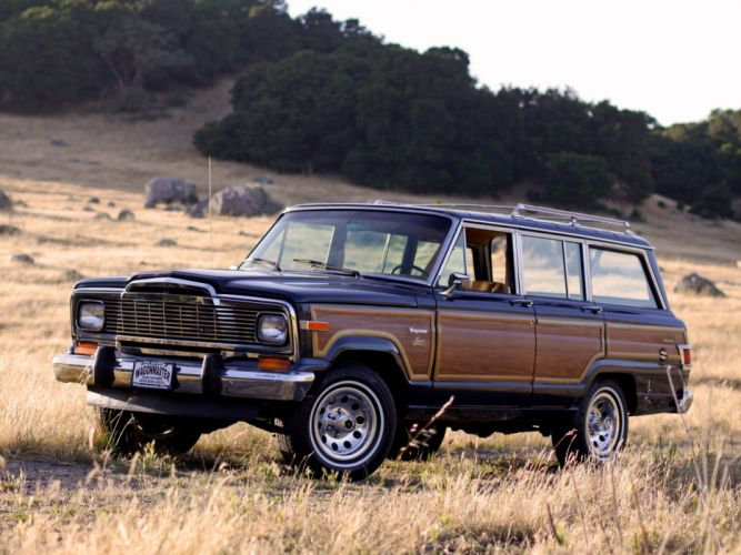 1979 Jeep Wagoneer Limited 4x4 suv stationwagon g wallpaper