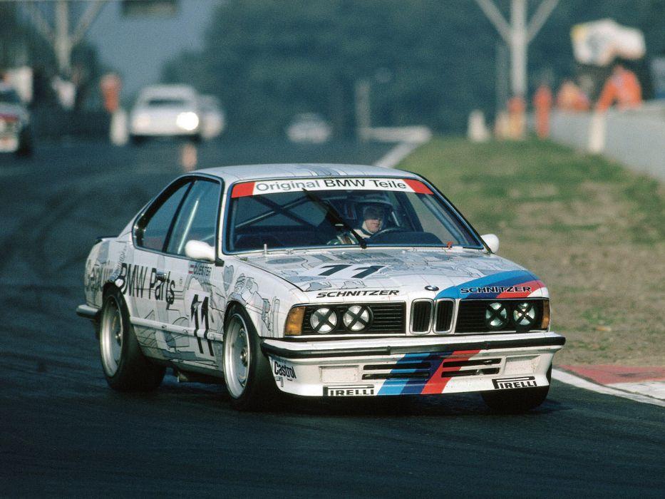 1984 BMW 635 CSi DTM E24 race racing       h wallpaper