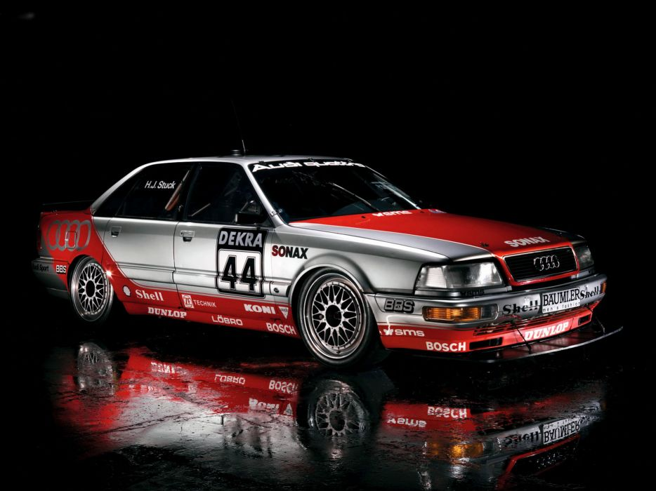 1991 Audi V8 Quattro DTM race racing v-8       g wallpaper