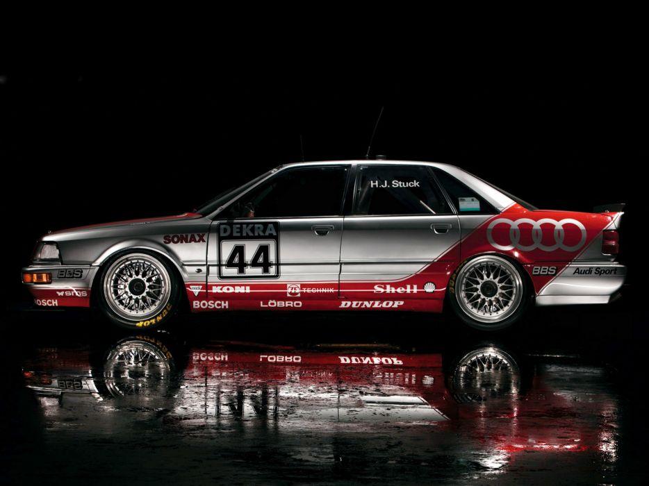 1991 Audi V8 Quattro DTM race racing v-8   h wallpaper